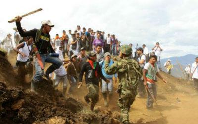 Retoma del cerro Berlín por parte del Ejército en el Cauca