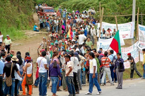 Díficil situación entre fuerza pública e indígenas en el norte del Cauca
