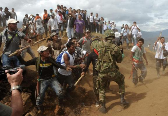 Ejército asesinó a un joven indígena en zona rural de Caldono, Cauca