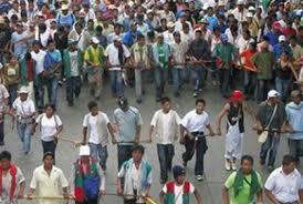 Indígenas esperan llegada del Ministro del Interior