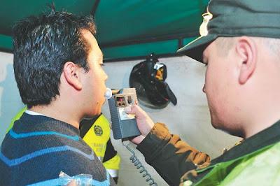 50 conductores ebrios fueron sancionados bajo la nueva Ley Merlano