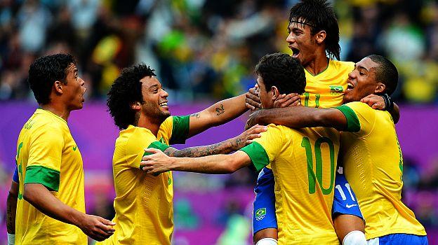 De la mano de Neymar, Brasil ganó y se encamina hacia la medalla dorada