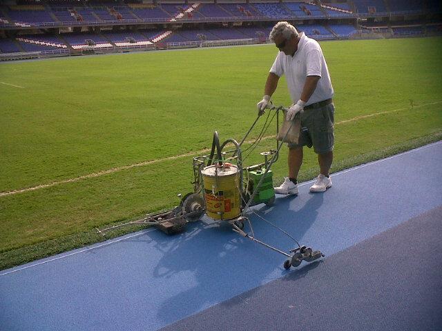 En pocos días estará lista la pista atlética del Pascual Guerrero