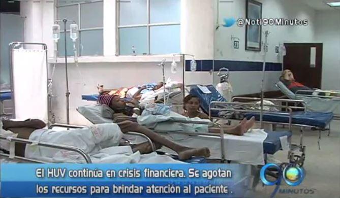 Crisis hospitalaria en el Valle