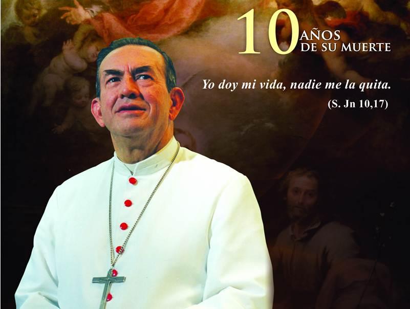 Conmemoración magnicidio Monseñor Isaías Duarte Cancino