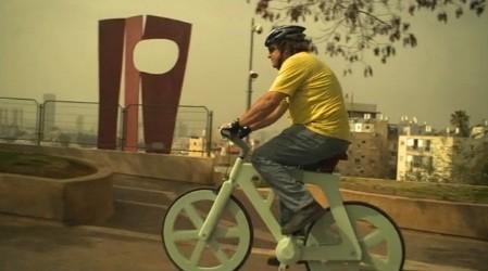 Fabrican bicicletas de cartón