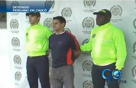 Capturan a ciudadano peruano en Quibdó, Chocó