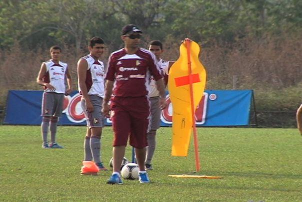 Selección Venezuela Sub 17 entrena en Cali