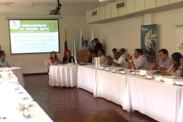 Encuentro nacional de secretarías de agricultura en Palmira