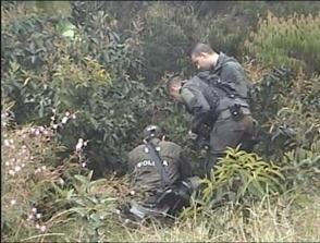 La Policía Cauca, descubrió una caleta con 60 kilos de explosivos, perteneciente a las  Farc.