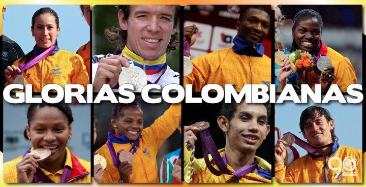 Ocho de las 19 medallas colombianas fueron conseguidas en Lóndres 2012