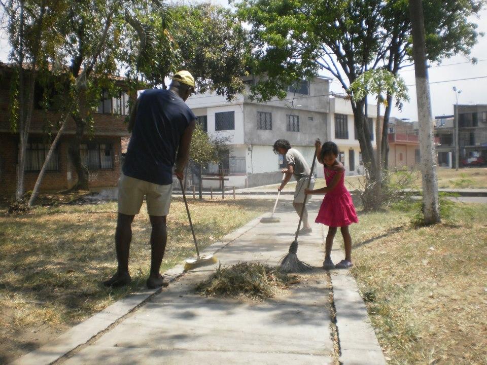 Lanzan campaña para recuperar zonas verdes de 'El Guabal'
