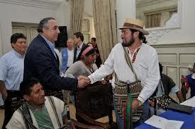 Diálogo entre Gobierno e indígenas quedó congelado
