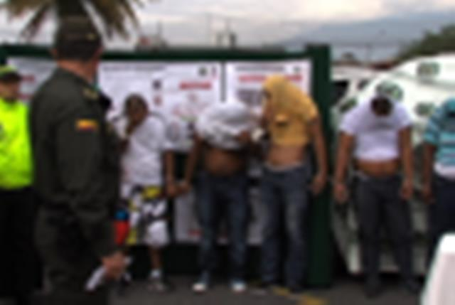 Desarticulada banda de sicarios en Cali