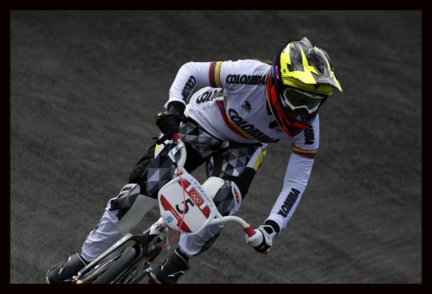 Pajón, Jiménez y Oquendo a la final del BMX olímpico