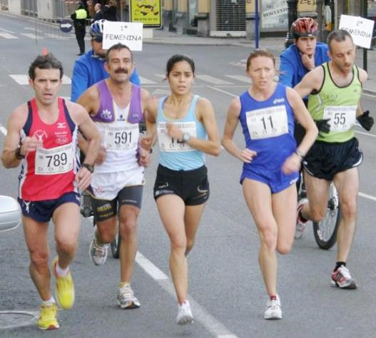 Palmira corrió su primera media maratón internacional