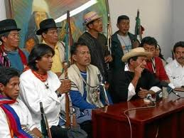 Indígenas esperan al Presidente Santos para reanudar mesa de diálogo