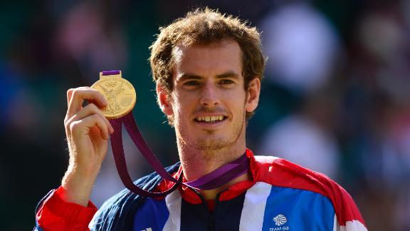 Andy Murray ganó el oro olímpico ante Roger Federer