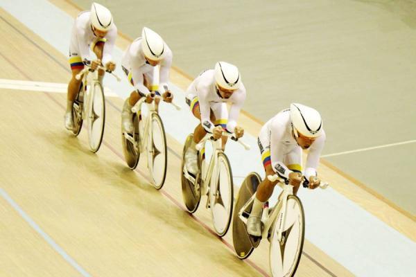 Colombia clasificó a la semifinal de persecución por equipos en Londres 2012