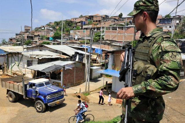Comuna 16 de Cali bajo vigilancia militar