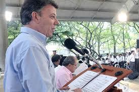 'La vuelta a Colombia' del presidente Santos pasó por Cali