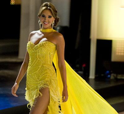 La Señorita Colombia presentará el vestuario para Miss Universo 2012.