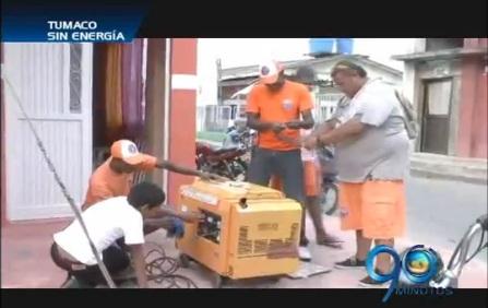 Las Farc dejan sin energía a Tumaco