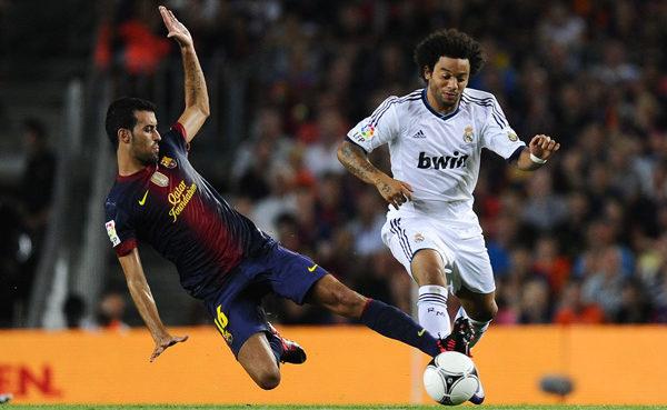 Real y Barza disputan esta tarde el juego definitivo por la Supercopa de España
