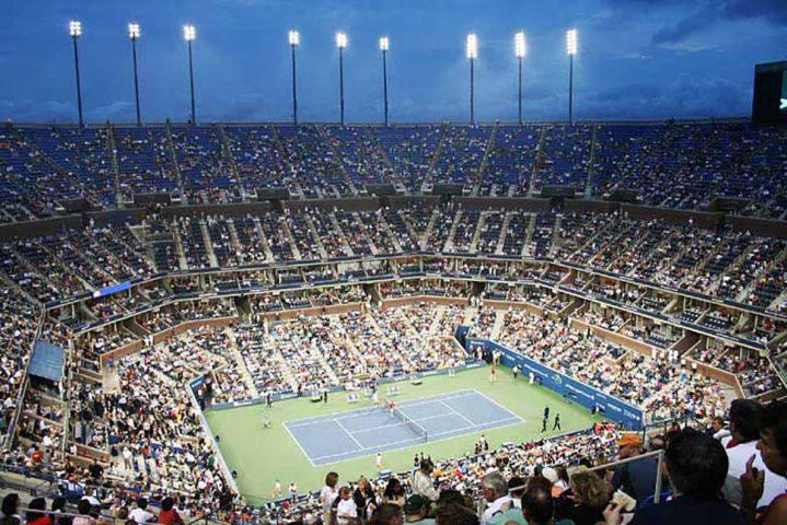 Azarenka y Serena Williams en la final del US Open