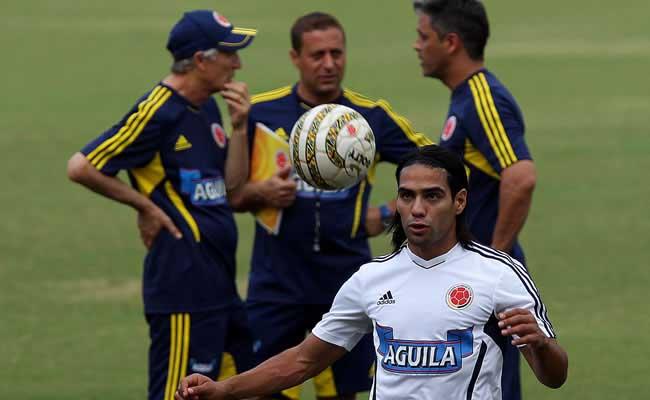La Selección Colombia ultima detalles de cara al juego ante Chile