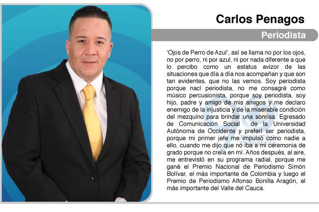 Ojos de Perro Azul, por Carlos Penagos