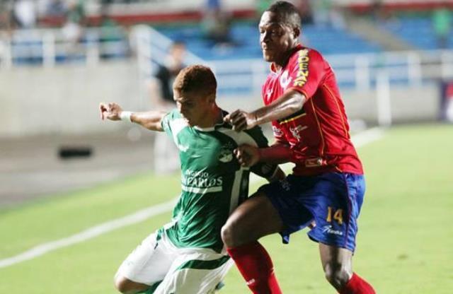 El equipo 'Verdiblanco' derrotado frente al Deportivo Pasto
