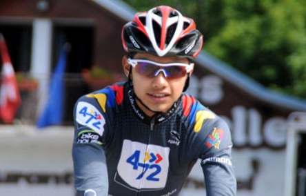 El hijo de Pupiales, Nariño, subcampeón del Tour de L'Avenir
