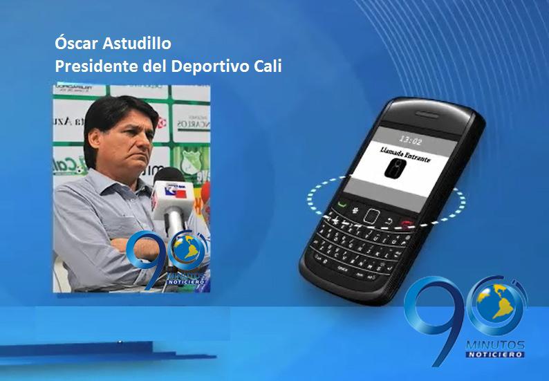 Presidente del Deportivo Cali asegura que no piensan en otro técnico