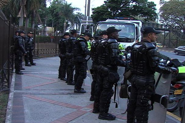 Así se prepararon las autoridades caleñas para evitar posibles disturbios durante las marchas