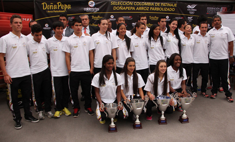 Patinadores regresaron a Colombia con un nuevo título debajo el brazo