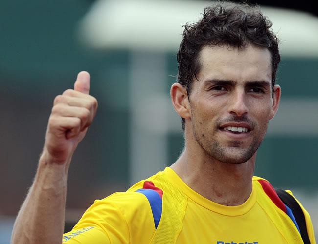 Victoria de Santiago Giraldo en el Seguros Bolívar Open de Tenis