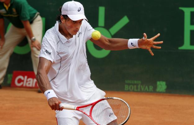 Joao Souza se coronó campeón del  Seguros Bolívar Open 2012
