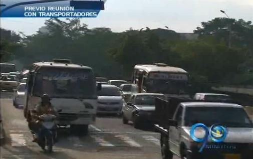 Buena disposición para diálogos entre Alcaldía y transportadores