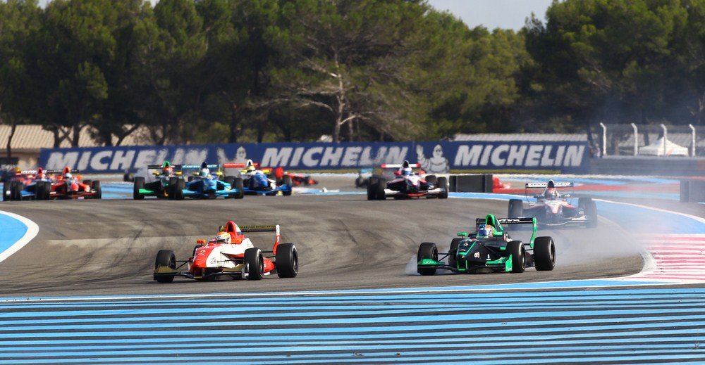 Memorable actuación de Óscar Tunjo en el circuito de Paul Ricard