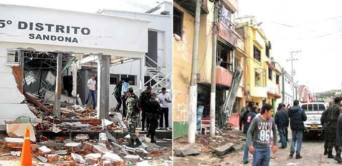 En Nariño capturan sindicados de atentados terroristas