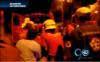 Bombero cayó a un abismo cuando apagaba incendio