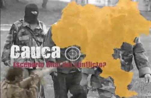 Cauca: Escenario final del conflicto