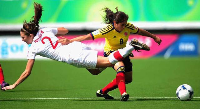 Las chicas de Colombia cayeron por la mínima diferencia