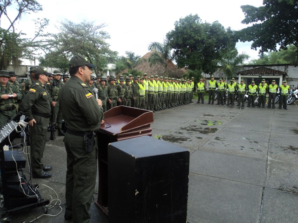Con 200 policías refuerzan la seguridad en Tuluá