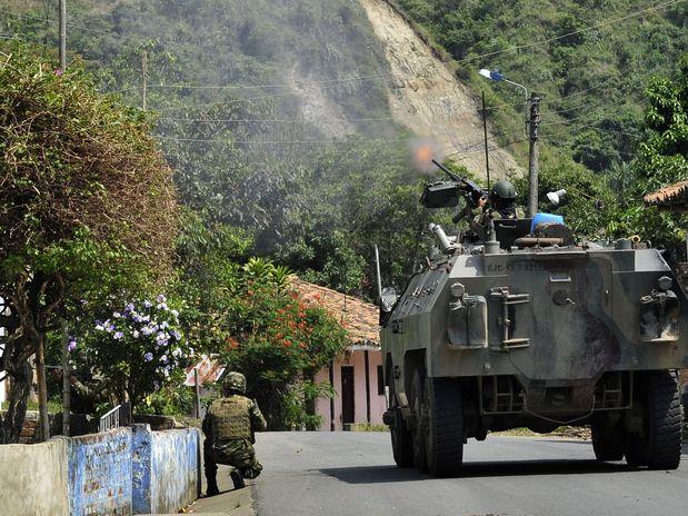Continúan combates en el norte del Cauca