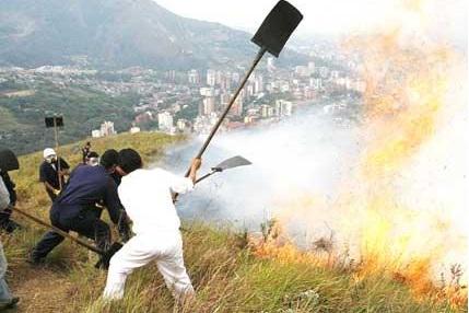 Incendio en Cerro de Las Tres Cruces ya fue controlado