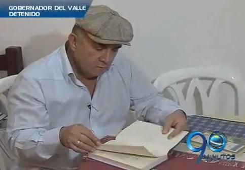 Ubéimar Delgado ya desempacó en su celda de Carabineros