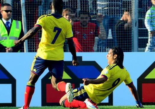 ´Monumental' triunfo 3 - 1 de Colombia en su visita a Chile