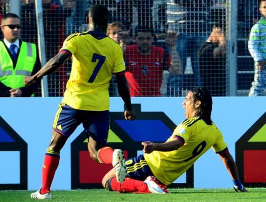 ´Monumental' triunfo 3 – 1 de Colombia en su visita a Chile